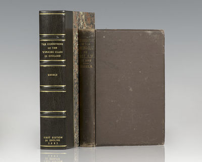 New York: John W. Lovell Company, 1887. Scarce first edition in English of Engels's classic account ...
