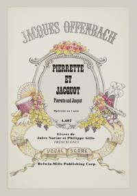 Pierrette et Jacquot ... Opérette en un acte Livret de Jules Noriac et Philippe Gille. [Piano-vocal score]