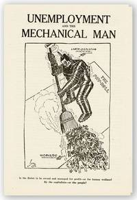 Unemployment and the Mechanical Man [drop title]