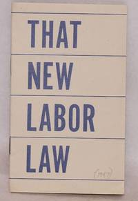 That new labor law