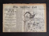 image of THE SAN FRANCISCO CALL. Steamship Arago Sunk, Theatre Ads, President  William McKinley Campaign