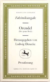 image of Orendel (Der Graue Rock) (Faksimileausgabe)