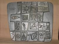UNIVERSITAS AETERNA. Relief von Erich Fritz Reuter 1958