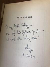 Play Parade Ayn Rand Presentation Copy Before We the Living