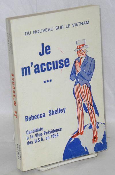 Battle Creek, MI: Peaceways, 1967. 156p., wraps slightly shelf worn.. Text in French & English, comp...