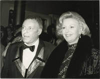 image of Original photograph of Frank Sinatra and his wife Barbara at the Kennedy Center Honors, 1983
