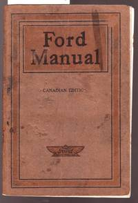 image of Ford Manual [ Possibly T Model ] Canadian Eition