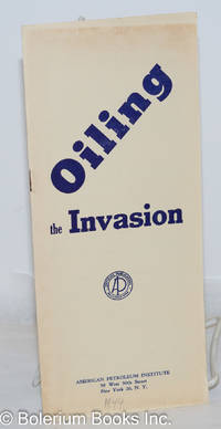image of Oiling the invasion