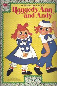 image of Whitman Raggedy Ann and Andy, a Paper Doll Book