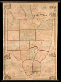Map of Saratoga Co. New York from Actual Surveys..