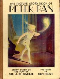 image of The Peter Pan Picture Book: The Picture Story is Based on the Play of the Same Name