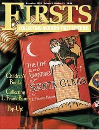 """image of Collecting L. Frank Baum: As Featured in """"Firsts Magazine"""" December, 1993"""