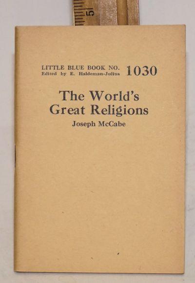 Girard: Haldeman-Julius Publications, n.d.. 64p., 3.5 x 5 inch stapled wraps;
