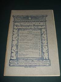 The Theosophic Messenger for May 1911