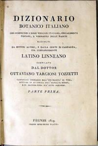 DIZIONARIO BOTANICO ITALIANO