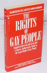 image of The Rights of Gay People: the basic ACLU guide to a gay person's rights
