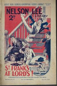 """image of THE NELSON LEE LIBRARY; The St. Frank's Weekly: New Series No 11, July 17, 1926 (""""St. Frank's at Lords!"""")"""