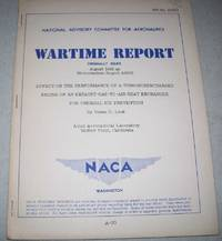Effect on the Performance of a Turbosupercharged Engine of an Exhaust Gas to Air Heat Exchanger for Thermal Ice Prevention (NACA Wartime Report)