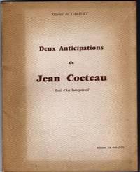 Deux anticipations de Jean Cocteau, essai d'Art Interprétatif