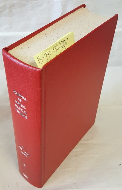 New York: American Institute of Physics, 1970. Hardcover. Quarto; G+ Hardcover; Red spine with White...