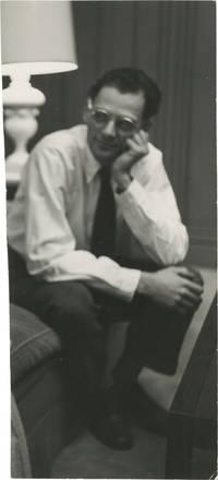 image of Original photograph of Arthur Miller, circa 1960s