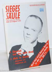 image of Siegessäule: das schwule Berlin-Blatt von magnus; 11/91: Überfall auf das Café Anal