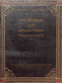 Catalogue 146/1992: Fine Bindings and distingiushed Provenances.