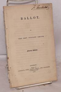 Ballot. Fourth Edition