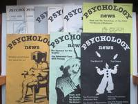 image of Psychology news: nos. 16, 17, 21, 23, 24, 25, 26, 27 & 28 (9 issues  between March 1981 and July/August 1982)