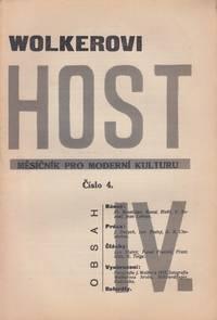 Host: měsičník pro moderní kulturu, ročník [Guest: a monthly journal of modern culture], vol. IV, no. 4 (1925). Issue devoted to the memory of Jiří Wolker