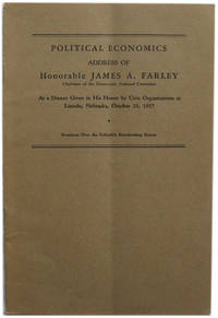 Record of the Democratic Party: Address of Hon. James A. Farley At a Dinner of the Duckworth Democratic Club in the City of Cincinnati on May 10, 1940