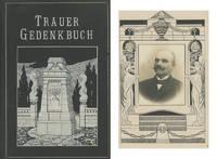 Trauer Gedenkbuch: Vaters Jakob Schwarz, gestorben 14, April 1916