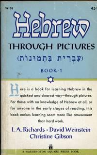 HEBREW THROUGH PICTURES : Book 1 : Washington Square Press, W-38