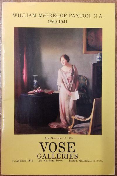 Boston, Massachusetts: Vose Galleries, 1979. Softbound. VG. rubbing to lower corner. instances of li...