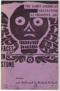 The Early American Gravef Tone Af Primitive Art Faces in Stone