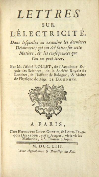 Paris: Hippolyte-Louis Guerin, & Louis-Francois Delatour, 1753. First edition, 12mo, pp. xi, , 264; ...