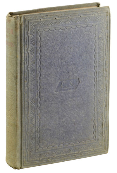 New York: Charles Scribner, 1853. First edition.. Frontispiece and tissue guard foxed; spine faded, ...