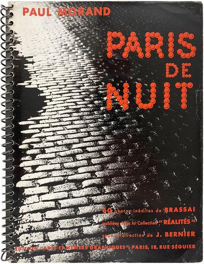Paris: Edition Arts et Métiers Graphiques, 1933. Former owner's innocuous book plate, signature tha...
