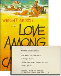 image of Love Among the Cannibals (First Edition, review copy)