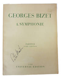 1. Symphonie [Symphony No. 1]. by  Georges Bizet - Paperback - nd - from Veery Books and Biblio.co.uk
