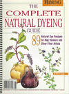 Complete Natural Dyeing Guide: 89 Natural Dye Recipes for Rug Hookers and  Other Fiber Artists