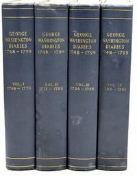 [AMERICANA] [GEORGE WASHINGTON] THE DAIRIES OF GEORGE WASHINGTON (4 VOLUMES)