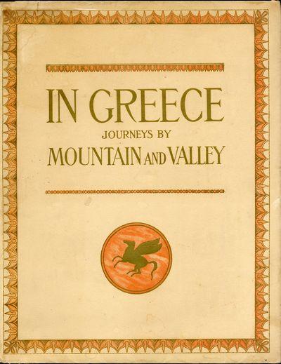 Geneva: Éditions d'Art F. Boissonas, 1920. First English language edition. Boissonnas, Fred.. Folio...
