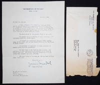image of Typed letter, signed by James Forrestal, Secretary of the Navy, to Kenneth Lee Mohler