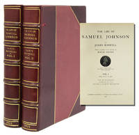 The Life of Samuel Johnson...newly edited with Notes by Roger Ingpen by  James Boswell - 1925 - from James Cummins Bookseller and Biblio.com