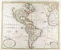 Carte D'Amerique Dressée pour l'Usage du Roy...1739. America Accurate in Imperia, Regna, Status & Populos Divisa, ad Usum Ludovici XV, Galliarum Regis