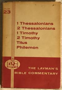 image of The Layman's Bible Commentary