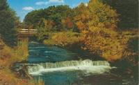 Canada – The Falls, Murray River, Prince Edward Island, 1964 used Postcard