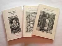 Deutsche Literature der Barockzeit. Complete set of 3 vols. (Katalogs 706, 707, 770)
