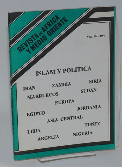Havana: Centro de Estudios de Africa y Medio Oriente, 1994. 202p., paperback journal, very good, tex...